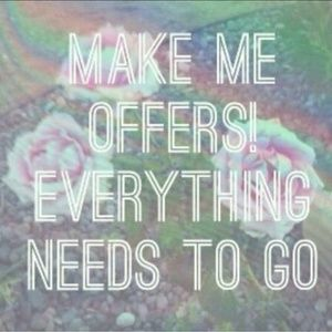 Taking everything down EOM - Send offers today! 💕
